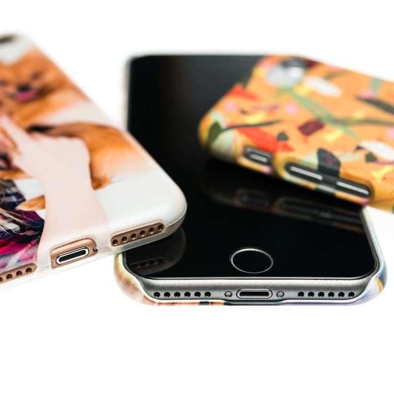 funda personalizada para iphone - dos fundas